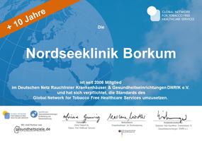 Nordseeklinik Borkum Mehr Luft Zum Atmen Rauchfrei Plus